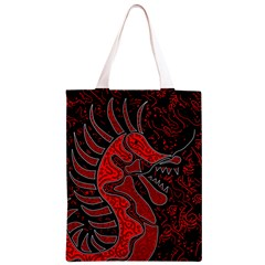 Red dragon Classic Light Tote Bag