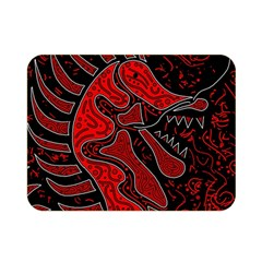 Red dragon Double Sided Flano Blanket (Mini)