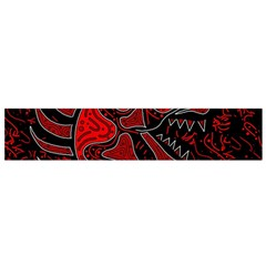 Red dragon Flano Scarf (Small)
