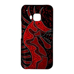 Red dragon HTC One M9 Hardshell Case