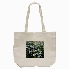 Blue Forget-me-not flowers Tote Bag (Cream)