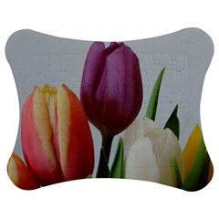 Tulip spring flowers Jigsaw Puzzle Photo Stand (Bow)