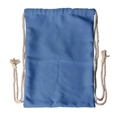 Blue Color Drawstring Bag (large)