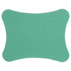 Mint color Jigsaw Puzzle Photo Stand (Bow)