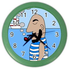 Sailor Color Wall Clocks