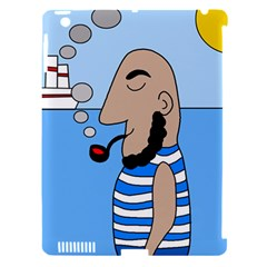 Sailor Apple iPad 3/4 Hardshell Case (Compatible with Smart Cover)