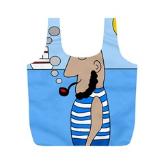 Sailor Full Print Recycle Bags (M)