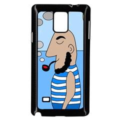 Sailor Samsung Galaxy Note 4 Case (Black)