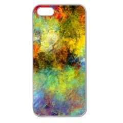 Lagoon Apple Seamless Iphone 5 Case (clear)