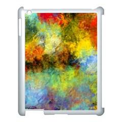Lagoon Apple iPad 3/4 Case (White)