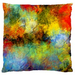 Lagoon Large Flano Cushion Case (two Sides)
