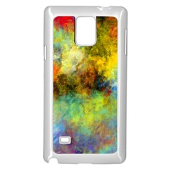 Lagoon Samsung Galaxy Note 4 Case (white)