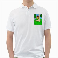 Giant foot Golf Shirts
