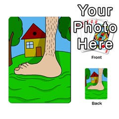 Giant foot Multi-purpose Cards (Rectangle)
