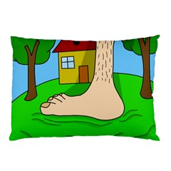 Giant foot Pillow Case