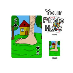 Giant foot Playing Cards 54 (Mini)