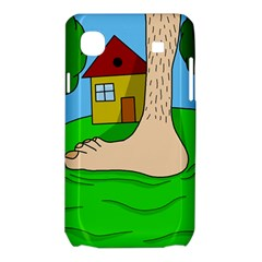 Giant foot Samsung Galaxy SL i9003 Hardshell Case