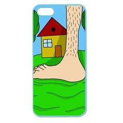 Giant foot Apple Seamless iPhone 5 Case (Color)