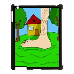 Giant foot Apple iPad 3/4 Case (Black)