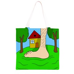 Giant foot Grocery Light Tote Bag
