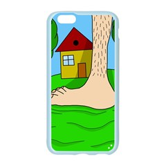 Giant foot Apple Seamless iPhone 6/6S Case (Color)