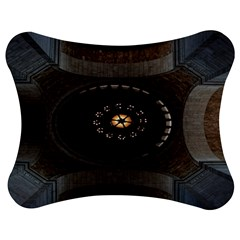 Pattern Design Symmetry Up Ceiling Jigsaw Puzzle Photo Stand (Bow)