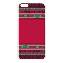 Pattern Ornaments Mexico Cheerful Apple Seamless iPhone 6 Plus/6S Plus Case (Transparent)