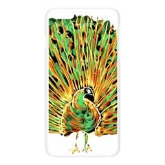 Peacock Bird Apple Seamless iPhone 6 Plus/6S Plus Case (Transparent)
