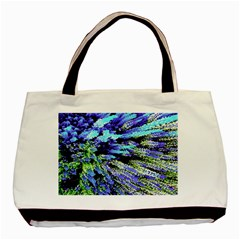 Colorful Floral Art Basic Tote Bag (Two Sides)