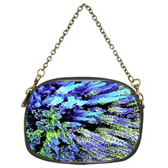 Colorful Floral Art Chain Purses (One Side)