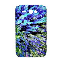 Colorful Floral Art HTC ChaCha / HTC Status Hardshell Case