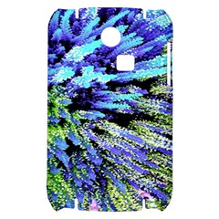 Colorful Floral Art Samsung S3350 Hardshell Case