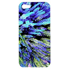 Colorful Floral Art Apple iPhone 5 Hardshell Case