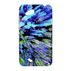 Colorful Floral Art HTC Desire VC (T328D) Hardshell Case