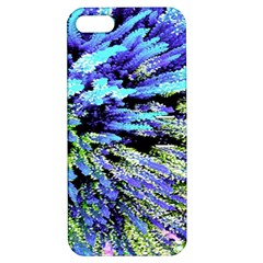 Colorful Floral Art Apple iPhone 5 Hardshell Case with Stand