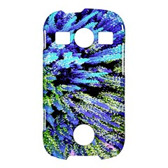 Colorful Floral Art Samsung Galaxy S7710 Xcover 2 Hardshell Case