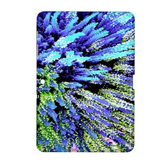 Colorful Floral Art Samsung Galaxy Tab 2 (10.1 ) P5100 Hardshell Case