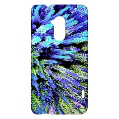 Colorful Floral Art HTC One Max (T6) Hardshell Case