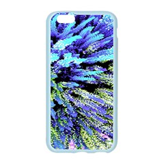 Colorful Floral Art Apple Seamless iPhone 6/6S Case (Color)