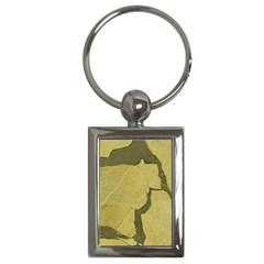 Stylish Gold Stone Key Chains (Rectangle)