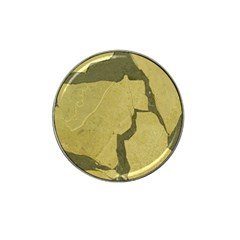 Stylish Gold Stone Hat Clip Ball Marker (10 pack)