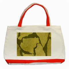 Stylish Gold Stone Classic Tote Bag (Red)