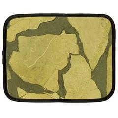 Stylish Gold Stone Netbook Case (Large)