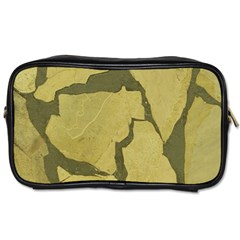 Stylish Gold Stone Toiletries Bags 2-Side