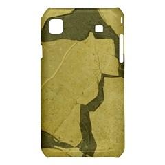Stylish Gold Stone Samsung Galaxy S i9008 Hardshell Case