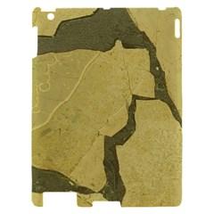 Stylish Gold Stone Apple iPad 2 Hardshell Case