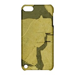 Stylish Gold Stone Apple iPod Touch 5 Hardshell Case with Stand
