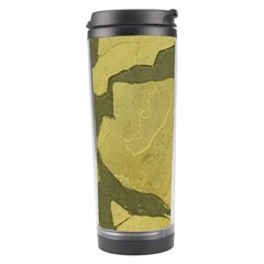 Stylish Gold Stone Travel Tumbler