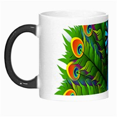 Peacock Peafowl Peachick Bird Morph Mugs