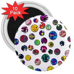 Play with me 3  Magnets (10 pack)